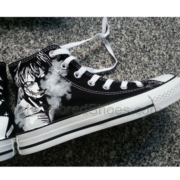 Attack On Titan Canvas Shoes Mens Womens Anime Shoes