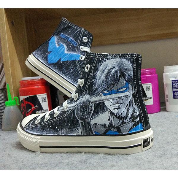 Lady gaga hand painted shoes lady gaga